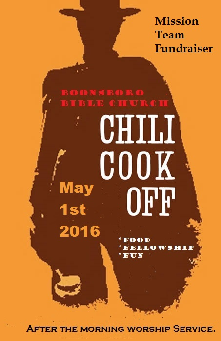 Boonsboro Bible ChiliCookoffFlyer 2016